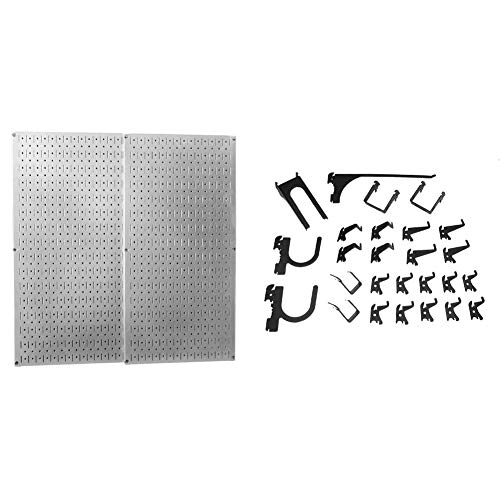 Wall Control 30-P-3232GV Galvanized Steel...