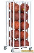 The Champion Sports Vertical Basketball Cage is a portable solution for team sports balls