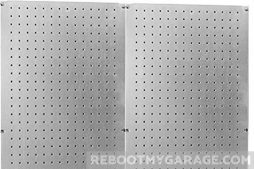 Cheap Pegboard is Wall Control's scratch-and-dent outlet