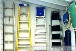 How Do I Store a Ladder in the Garage?