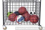 Portable sportsball locker