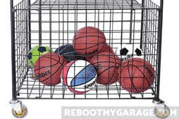 Sports Ball Garage Organizers that Fix Wasted Space