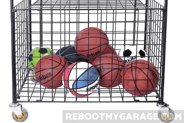 Portable sportsball locker