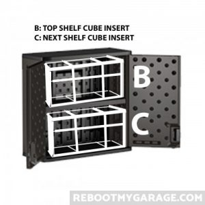 Shelf Height Insert