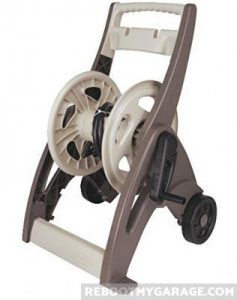 Suncast 175 ft. capacity hose reel.