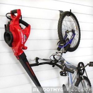 Hang yard tools on the 13012 Super Duty Bike U-Hook