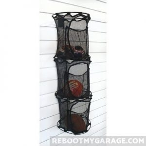 Proslat 63023 ball organizer compartments are too small