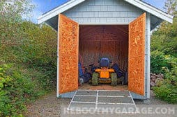 13 Ways to Store Your Lawn Tractor / Mower or Blower