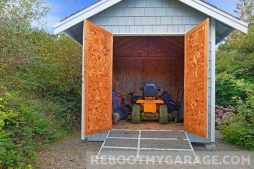 Tractor shed