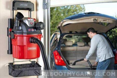 Wall Mounted Garage Vacuum
