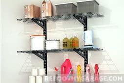 Best Garage Adjustable Wall Shelves