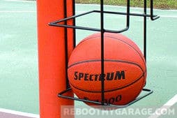 Best Near-Court Ball Storage: Basketball Butler