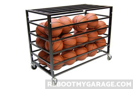 Best ball wheeled cage