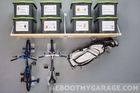best garage fixed shelf