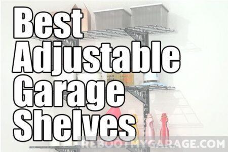 Best adjustable garage shelves