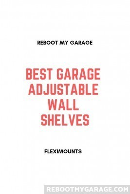 Best Garage Adjustable Wall Shelves