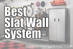 Best slatwall for the garage