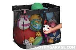 Best Garage Wall Sports Ball Storage: Hanging Basket