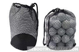Best Portable Sports Ball Storage: Nylon Mesh Bag