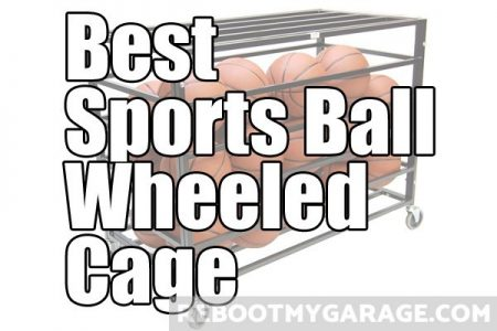 Best Sports Ball Wheeled Cage