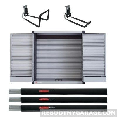 FastTrack Tool Cabinet Bundle with Free Ladder and Hose Hooks