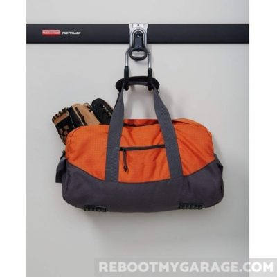 Hang a duffel bag on the Utility Hook
