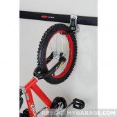Hanging a bike on the Vertical Bike Hook
