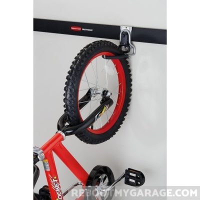 Hanging a bike on the Vertical Bike Hook