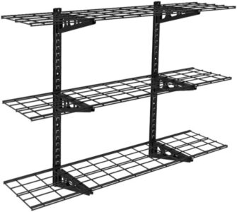Fleximounts 3-tier adjustable garage shelves