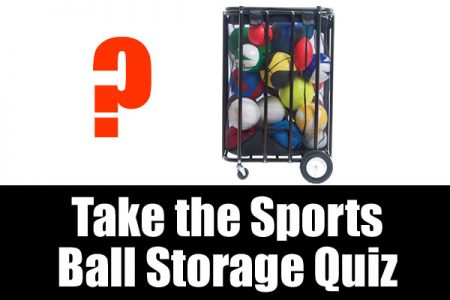 Take our sports ball storage quiz