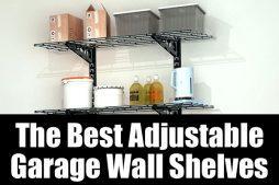 The best adjustable garage shelves