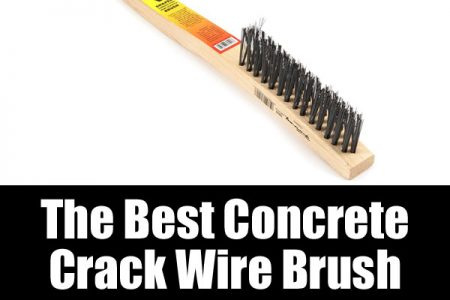 The best concrete crack wire brush