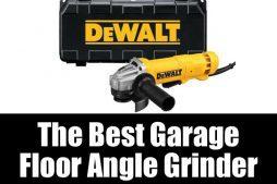 The best garage floor angle grinder