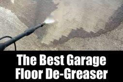 The best garage floor de-greaser