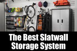 The best slatwall storage system