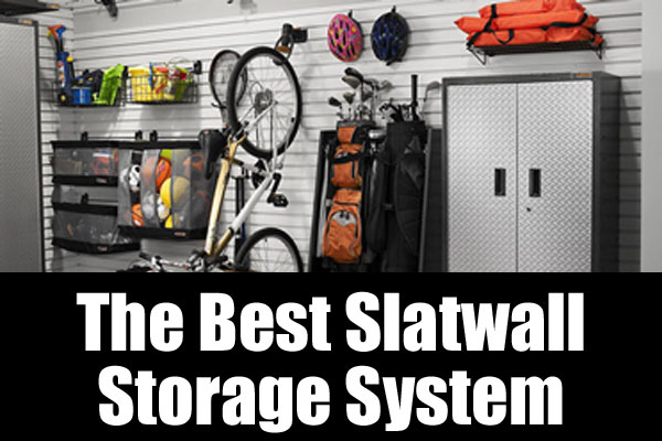 The best slatwall storage system