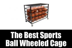The Best Sports Ball Wheeled Cage