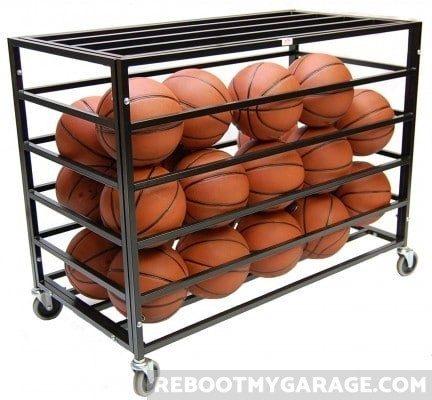 Trigon: Best portable, secure team sports ball storage solution.