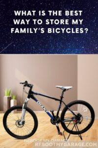Simple bike floor stand