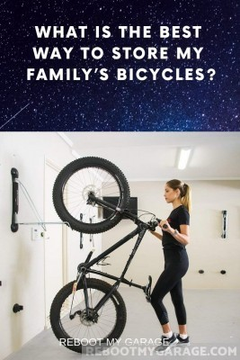 Steadyrack wall mount or bikes