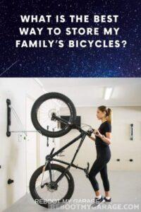 Steadyrack wall mount or bikes