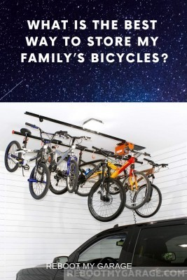 Most powered ceiling bike racks are not recommended for safety concerns