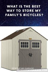 Get a bike shed