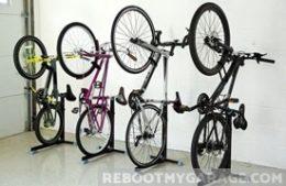 Hanging 4 bikes