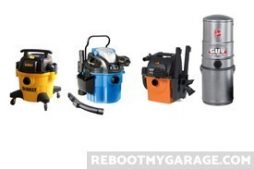Garage vacuum competitors