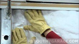 Installing the Owens Corning garage door insulation kit