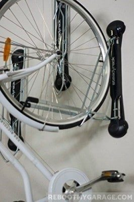 Bike tire width, disc brakes and fenders affect storage choices
