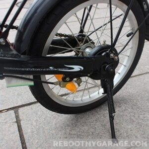 This kickstand adjusts to 12, 14, 16, 18 or 20 inches long.