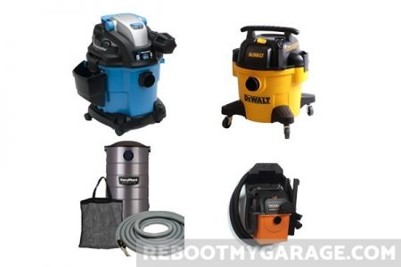 VacMaster, DeWalt, VacuMaid, and Ridgid Vacuum Cleaners