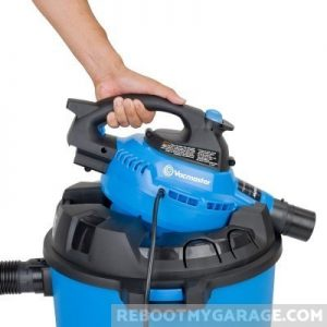 The VacMaster VBV1210 comes with a detachable 240 MPH blower